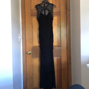 Xscape Black Gown
